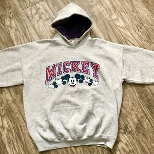 90's Disney Designs Mickey Mouse Hoodie USA Made
